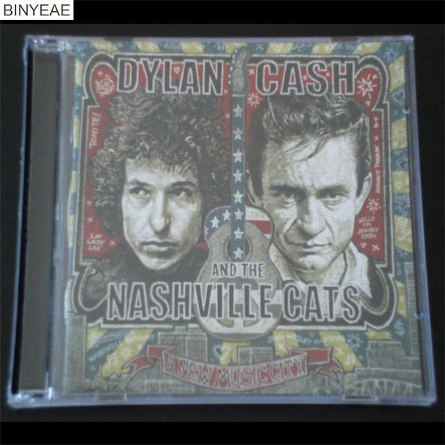 BINYEAE New CD Seal: Bob Dylan Johnny Cash Nashville Cats Country Ballad  Hall of Fame 2CD disc [free shipping]-in CD/DVD Player Bags from Consumer