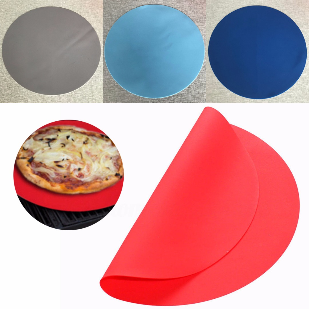Mayitr 30cm Silicone Baking Mat Oven Microwave Cookie