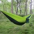 200pcs/lot Double Person Parachute Fabric Sleeping Hamak Travel Leisure Activity Swing Hommock 260*140CM Max Load 140KG ZA1072