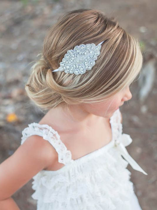 Rhinestone Headband For Hair Accessories Crystal Jewelry Wedding Gift Photo Prop In From Mother Kids On Aliexpress
