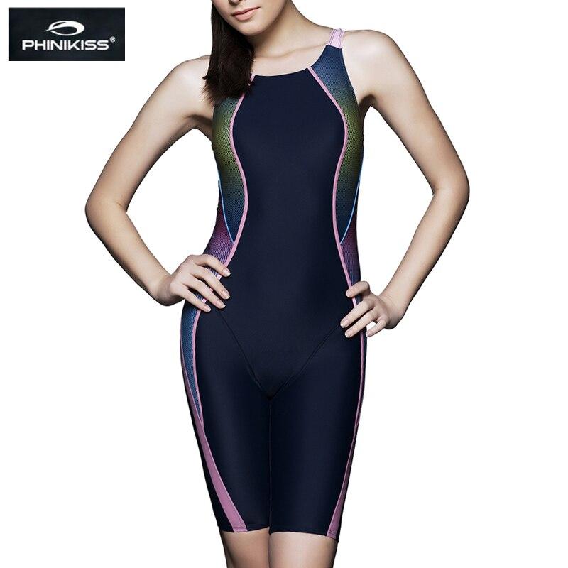 Bagnanti Da Corsa di Sport Costume Da Bagno Plus Size Costumi Da Bagno Femminile di Un pezzo Vestito di Nuoto Delle Donne Professionale Concorrenza Costume Da Bagno Può