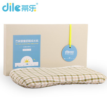Dile 1pcs hight quality baby Ramie pillow infant shaping pillow neck kid soft breathable bedding bear unisex