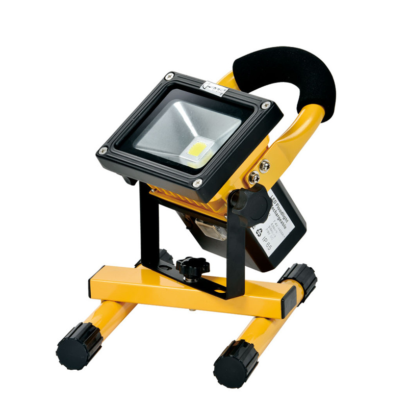 Portable 220V/110V LED Spotlight waterproof outdoor LED Flood lighting Floodlight Rechargeable emergency light ...