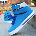 2016 new men shoes for men casual flats breathable lace up high top summer style fashion men shoes