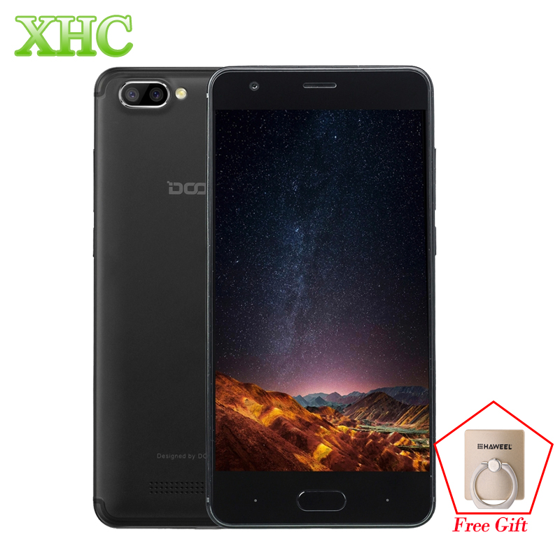 Newest DOOGEE X20 5 0 Mobile Phone Android 7 0 720 1280 Dual Back Camera 2GB