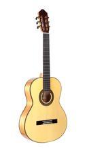 Professionele handgemaakte 39 inch akoestische Flamenco-gitaar met massief sparren / Aguadze body + snaren, klassieke gitaar
