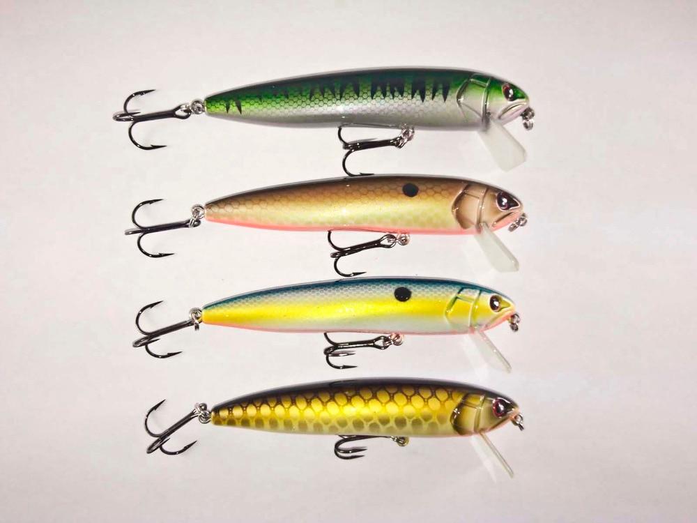 BassLegend - Fishing Shallow Water Floating Minnow Jerkbait Bass Pike Lure 105mm/15g mikado shallow minnow 12cm 22 плавающий