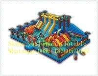 Прямая продажа с фабрики надувные слайд, надувной замок, джунгли Развлечения город KYB 38
