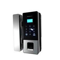 Smart home glass door fingerprint lock password lock office password lock glass door lock