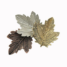 Vintage Spille Maple Leaf Spilla In Oro Argento Placcato Spille Spilli Squisito Del Collare Per Le Donne Del Partito di Ballo Accessori Broche Mujer(China)