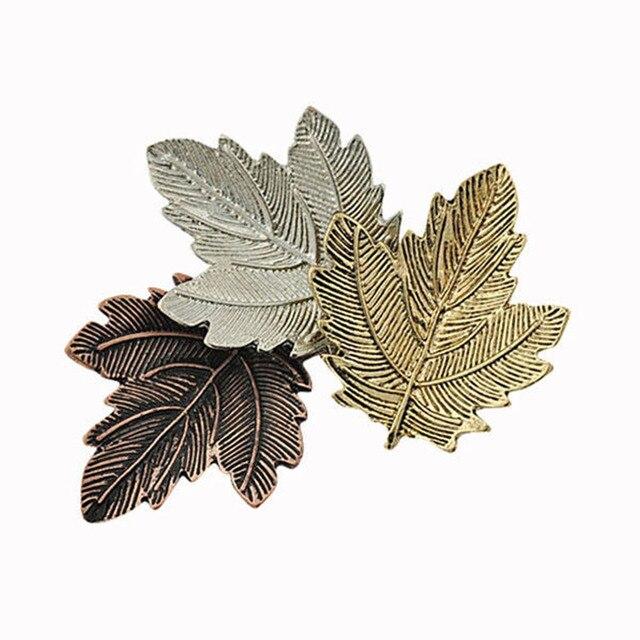 Vintage Spille Maple Leaf Spilla In Oro Argento Placcato Spille Spilli Squisito Del Collare Per Le Donne Del Partito di Ballo Accessori Broche Mujer