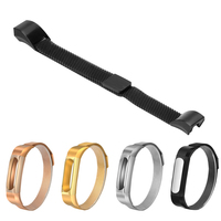Stainless steel watchband Magnetic clasp Metal Wristframe Wrist Strap Protective Shell Band for xiaomi Mi Band 1A and 1S Plus for xiaomi mi band band for mi band for mi band -