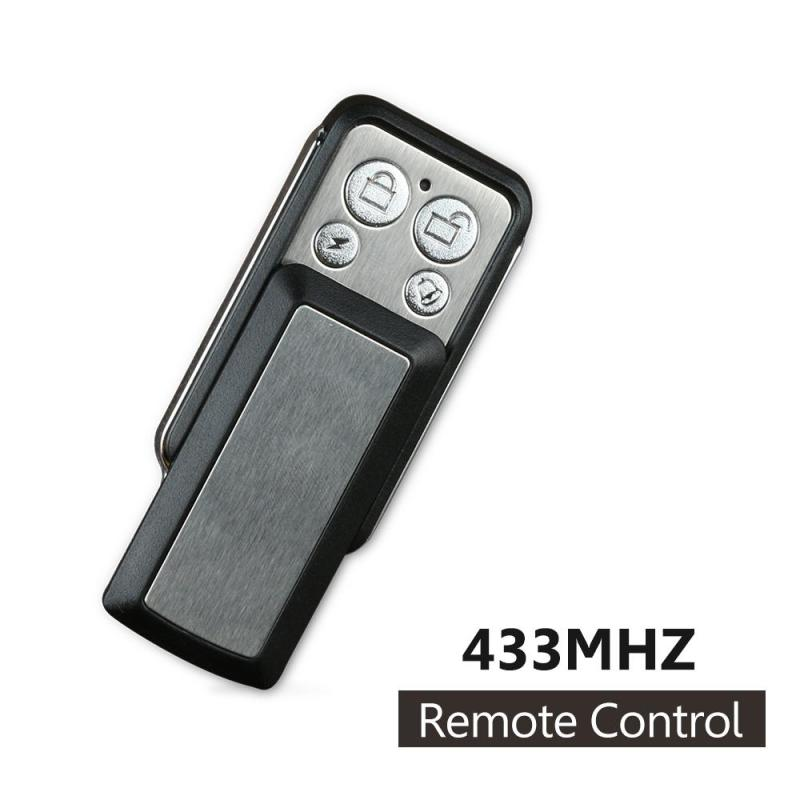 433 MHz Universal 4CH wireless remote control toggle switch Copying Transmitter duplicator Key Fob for Gate Garage Door Opener qiachip mini copy code 868mhz 4ch universal remote control switch cloning duplicator key transmitter for garage door gate opener