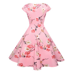 Women Dress Hepburn JY11989 2