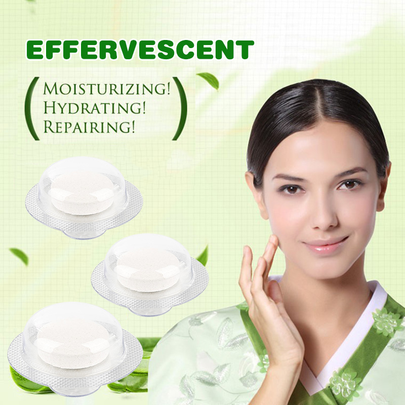 5 Pcs Multifunctional Effervescent Spray Hyaluronic Acid Granular Moisturizing Facial Whitening Portable Skin Care Set TSLM2