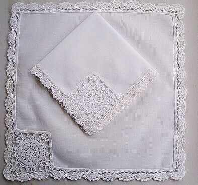 Hight quality white 100% cotton embroidery handkerchief handmade lace handkerchief free shipping