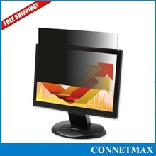 """18.5""""Inch Widescreen (16:9) Privacy Screen Film For LCD Screen Monitor ,Free Shipping(China (Mainland))"""
