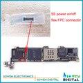Conector fpc para el iphone 5s interruptor de volumen de encendido/apagado en la placa madre, nuevo, 3 unids/lote