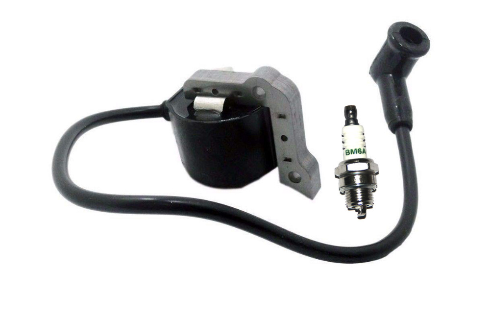 Ignition Coil Module With Spark Plug BM6A For SACHS DOLMAR 112 113 114 116 117 120 120 SUPER PS6000 PS6800