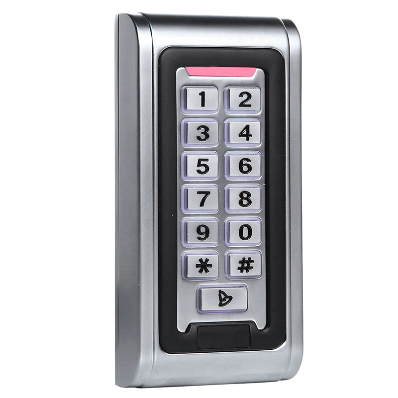 Id Waterproof Ip68 Metal Case Stand-Alone Access Control Keypad With Wiegand 26 Bit Interface For 125Khz Rfid Card            #8