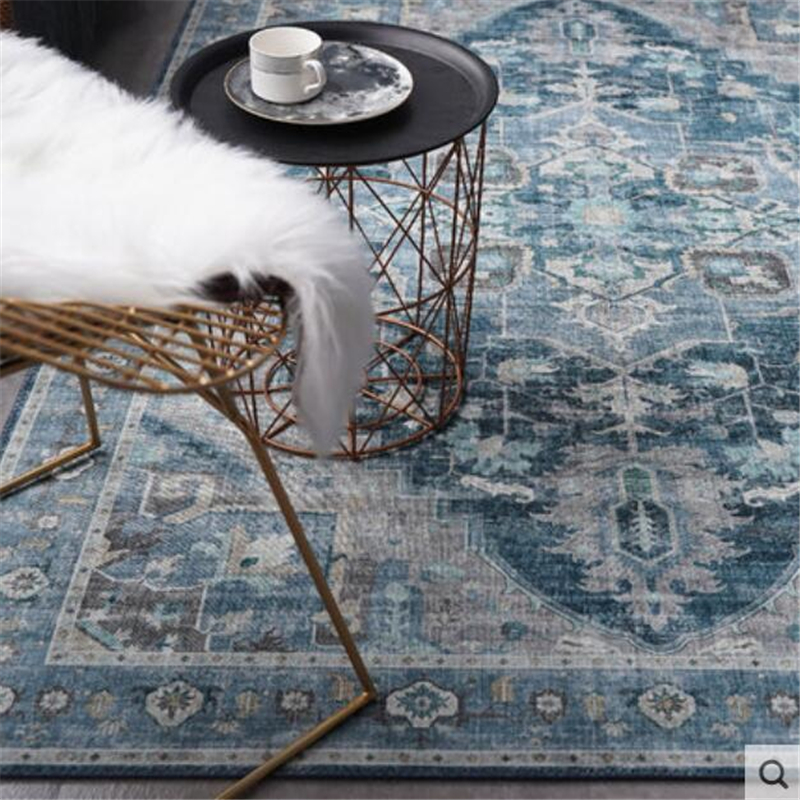 2019 New Classical Soft Carpets For Living Room Home Carpet Floor Door Mat Delicate Decor Area Rugs 200x300cm Large Carpet