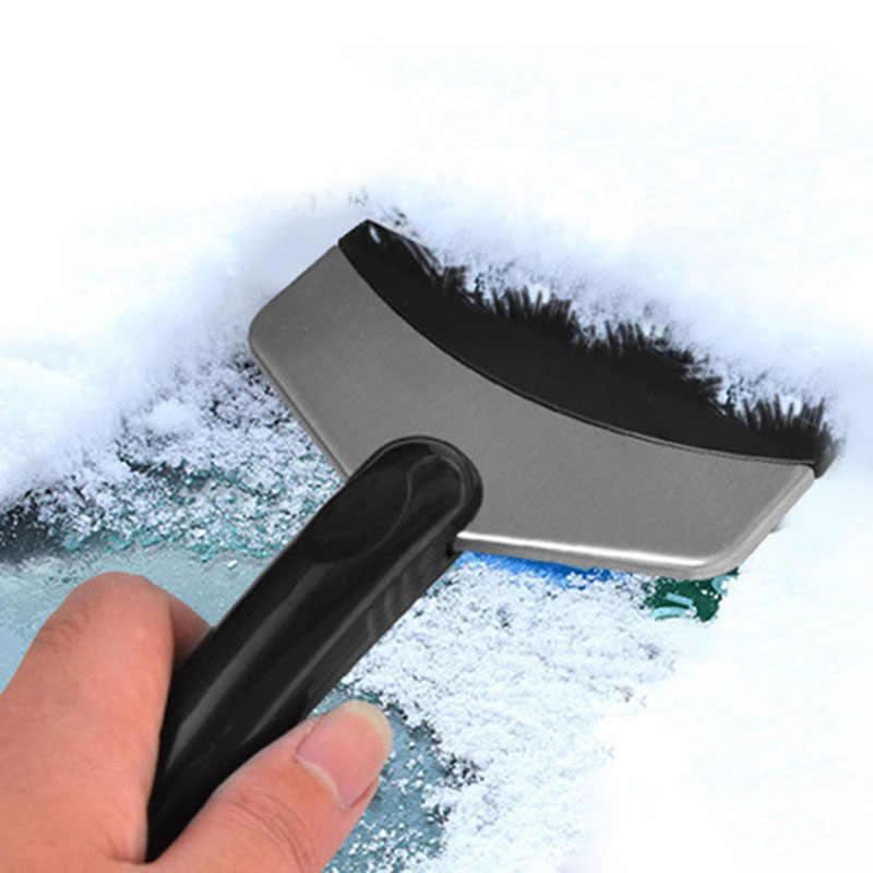 Mini ze stali nierdzewnej łopata do śniegu dla przednia szyba samochodu skrobak urządzenia do oczyszczania YAN88