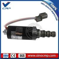 SK200-5 válvula de solenoide de KWE5K-20/G24Y12A YN35V00005F2 SKX5/G24-212A para Kobelco