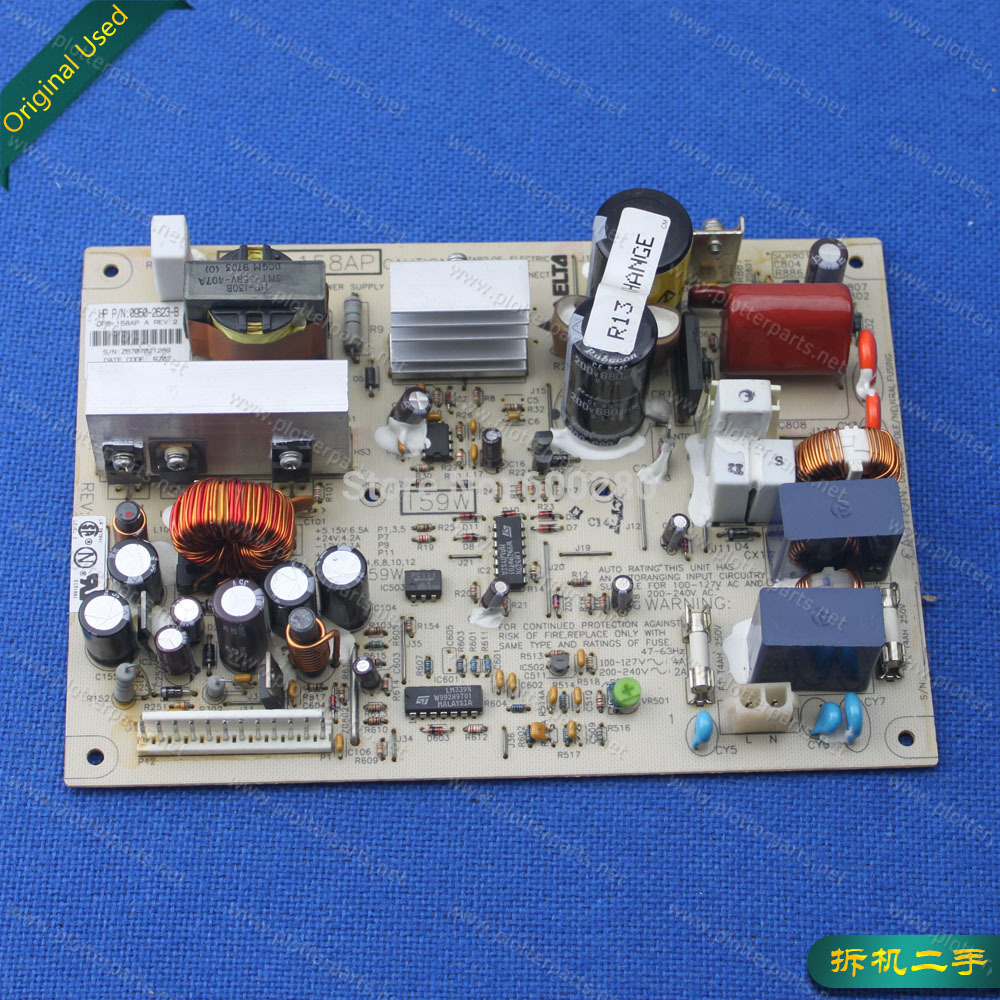 0950-2623 C3195-60168 0950-2417 Switching power supply for HP DesignJet 1633 200 220 600 650 Original Disassemble lt4269fhd supply bureau 200 p00 ip0s250 s2h 860 az0 ip0s250 p1h used disassemble