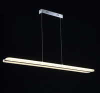 BLUE TIME 38W Modern LED   Pendant     Lights   for Dining Room White Acrylic LED   Pendant   Lamp Contemporary L100CM H150CM 38W