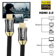 2.0 HDMI Cables Professional 3D 4k Full HD 1080p Audio HDMI to HDMI Cable Converter Extension Cord for HD TV LCD Laptop PS3 PS4 цена и фото