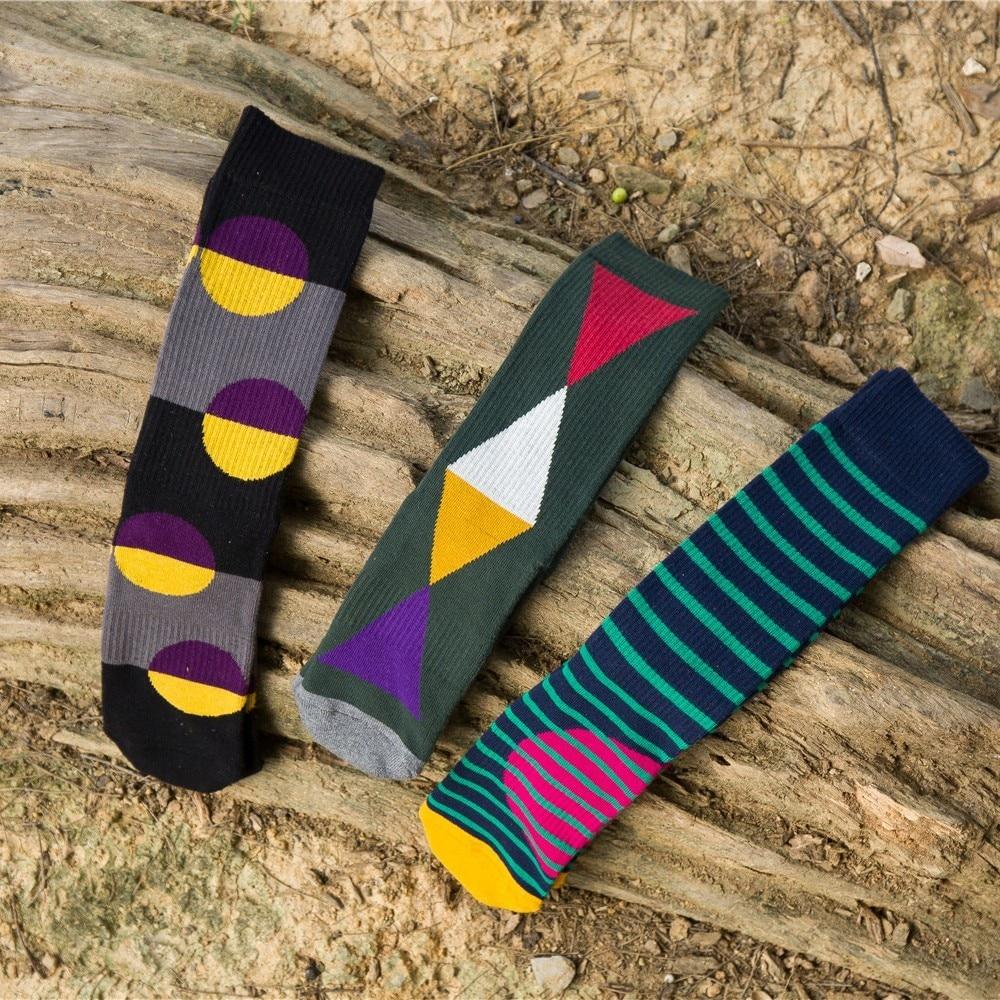 PEONFLY Geometric pattern Originality Restore Ancient Ways Man Summer funny happy novelty Socks colorful men