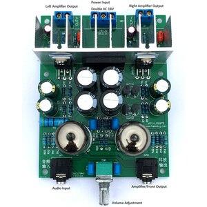 Image 2 - Lusya HIFI 6J1 tubo amplificatore audio di bordo LM1875T Bordo dellamplificatore di potenza 30W preamplificatore bile buffer kit FAI DA TE/finito