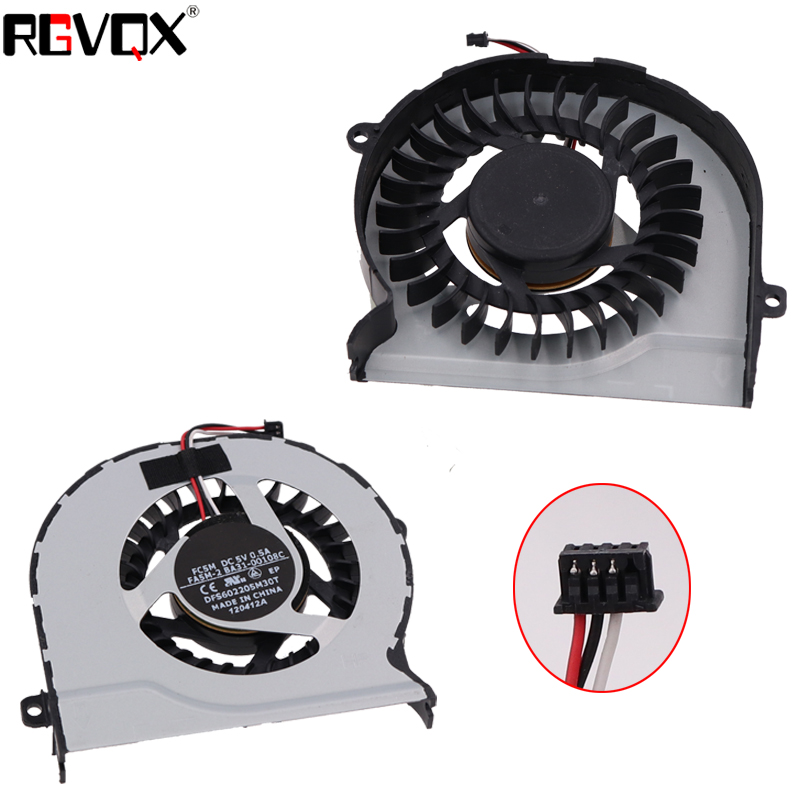New Laptop Cooling Fan for SAMSUNG NP300 version 2 PN MF60120V1 C460 S9A CPU Cooler Radiator in Fans Cooling from Computer Office
