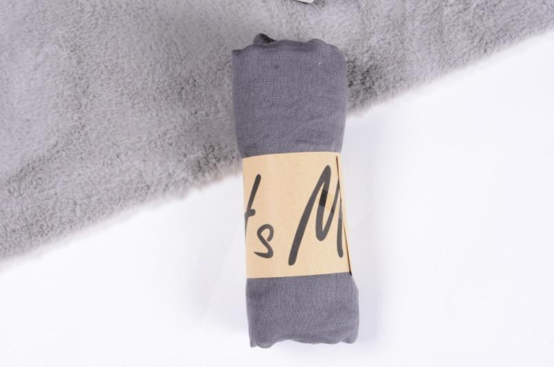 新到着 45*180 センチメートル古典プレミアムビスコースマキシクリンクルクラウドヒジャーブスカーフショールソフトイスラム教徒スカーフ冬少女のスカーフ