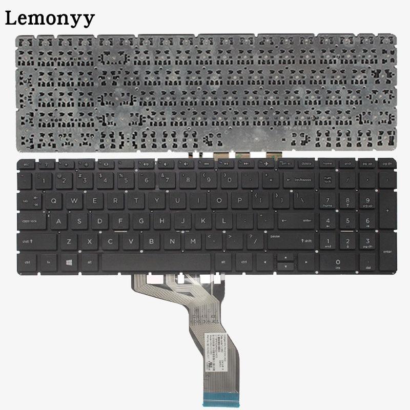 US laptop keyboard for HP 15T 15Z 15-BR-BS-BU-BW 250 255 256 G6 L03442-001 AP2040001C1 TPN-C129 C130 English keyboard цена