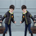2016 New Winter Jacket Boy  Fashion Boys Hooded Coat  Thick  Cotton Warm Boy Outerwear Hot Seller 4Color Optional