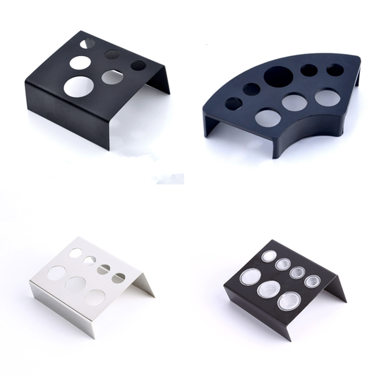 6/7/8 Holes Tattoo Ink Cup Holder Stand Makeup Accessories Random Color Trailer Supplies Tatoo Tool Pigment Brack Container