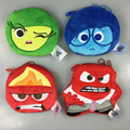 New Arrival Inside Out Anger Joy Disgust Sadness Coin Purse Unisex Wallet Multi-functional Kawaii Bag Cartoon Plush Toys