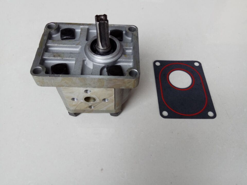 Gear pump CBN-E316L (left rotation, with flange, no end oil outlet, splined long shaft of Dongfeng tractor hansa amm20bimh