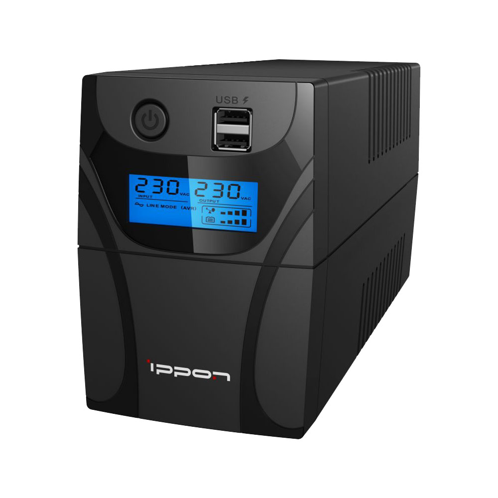 Uninterruptible Power Supply Ippon Back Power Pro II 600 Home Improvement Electrical Equipment & Supplies (UPS) emacro new original new giant server power supply m1w3 6950p m1w 6500p giant industrial power supply