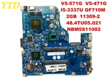 Original for ACER V5-471G V5-571G laptop motherboard I5-3337U GF710M 2GB 11309-2 48.4TU05.021 NBM5S11002 tested good free shippi