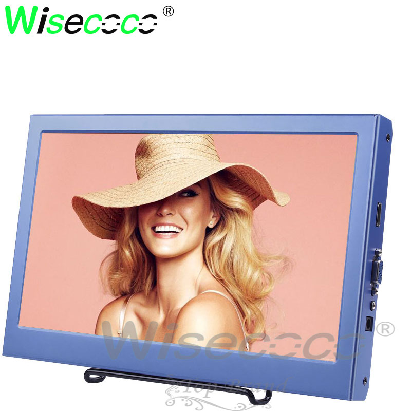 Full Viewing 1920*1080 11.6 inch Wide Industrial Monitor With VGA/HDMI for raspberry pi /tablet