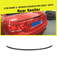 Carbon Fiber Rear Trunk Boot Spoiler Wing for BMW E93 325 328 330 335 E93 M3 2007 2013 Car Styling