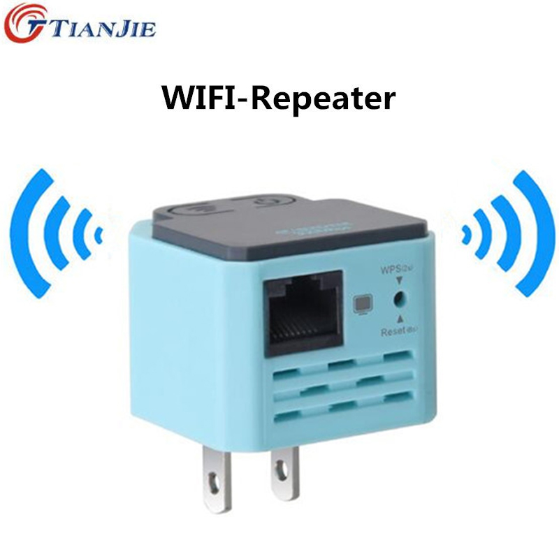 TIANJIE mini WiFi router WAN/LAN port 300 Mbps WPS WiFi repeater Extender di Segnale 300 Mbps Potenza Del Segnale repetidor wiFi booster