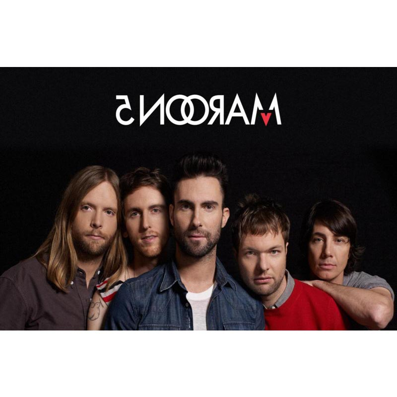 Maroon 5 Canvas Fabric Cloth Poster Custom Art Canvas print Professional Home Wall Decoration