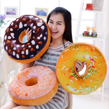Neue dreizehn Stile Donut Donut Förmigen Ring Plüsch Weiche Neuheit Stil Kissen