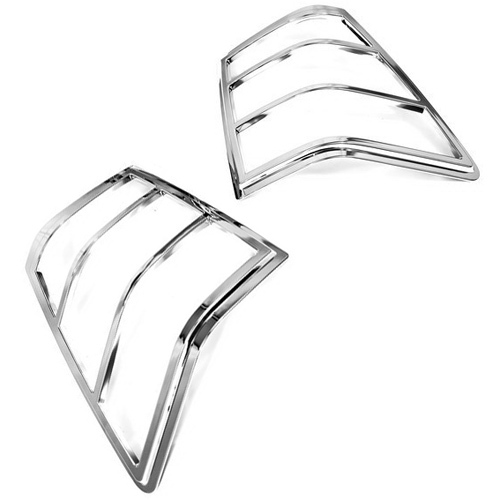 chrome styling tail light cover for jeep grand cherokee 05