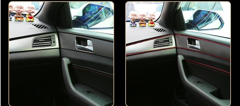 2017 new car interior sticker for renault captur peugeot 207 evoque grande punto hyundai tucson. Black Bedroom Furniture Sets. Home Design Ideas