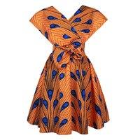 Женское платье с цветочным принтом в африканском стиле, элегантное Бандажное платье, модная одежда, платья в стиле бохо, шикарное 3D платье, р...
