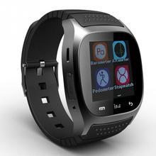 Smart Uhr Heißen M26 Bluetooth armbanduhr smartwatch mit Zifferblatt SMS Erinnern Musik-player Schrittzähler für Android Samsung Smartphones